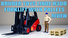 Bruder Toys Linde H30D Forklift Video Review!