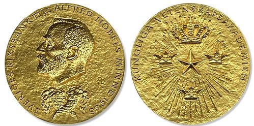 Simon Kuznets Nobel prize medal