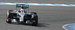 Lewis Hamilton - Mercedes W06 Hybrid 2015
