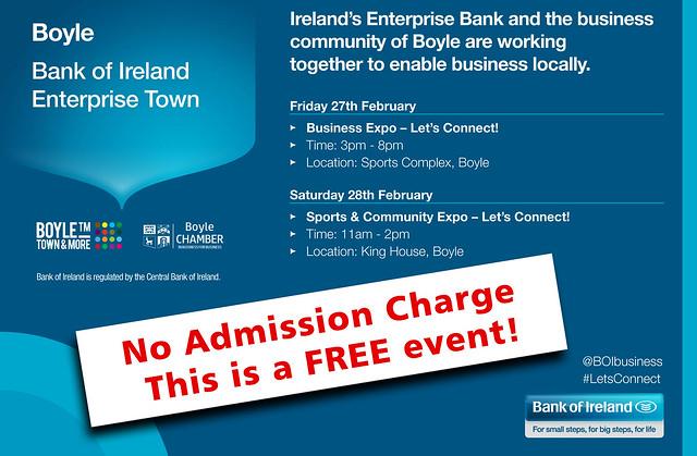 Bank of Ireland. Boyle Expo