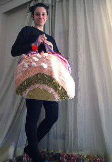 """Self portrait with """"Extreme bag of curiosities"""""""