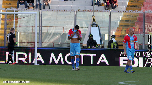 Catania-Frosinone 1-2: Diagnosi sconfortante$