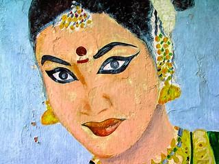Street art, Kerala, India, 2005