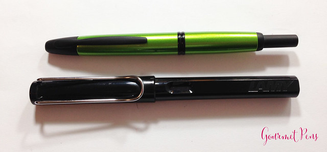 Review Pilot Vanishing Point Valley Green Fountain Pen @PilotPenUSA (3)