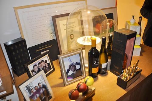 Recuerdos y premios de los hermanos Roca
