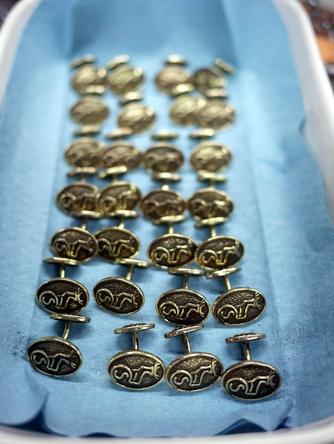 Caledonian Sleeper Cufflinks - WIP - 2