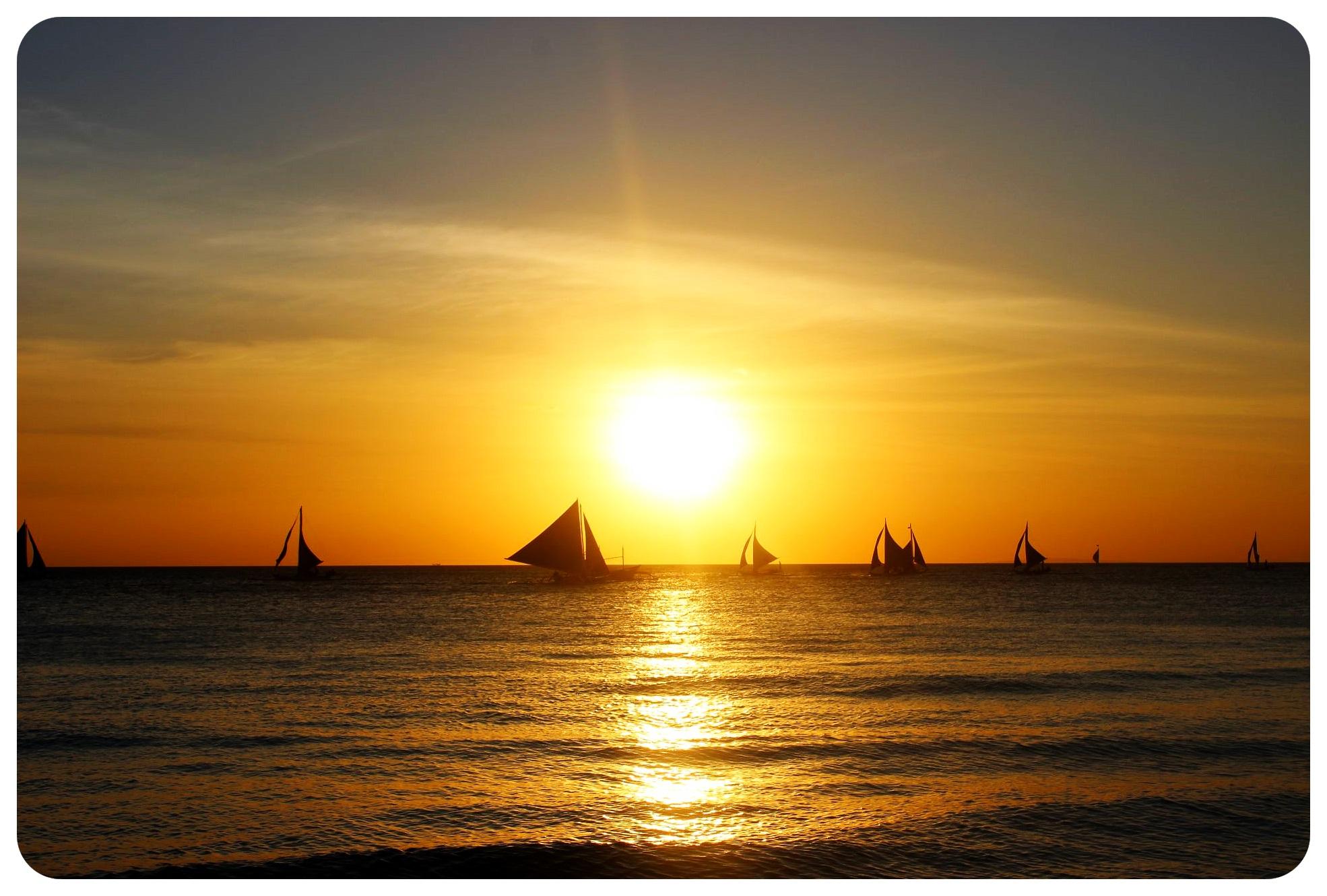 sunset boracay philippines1