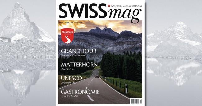 SWISSmag č. 12 - jaro/léto 2015