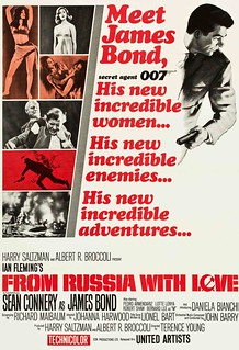 """James Bond 007 movie """"From Russia with Love"""""""