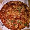 Snack! :blush: #BarbaqueChickenPizza #YellowCabPizza