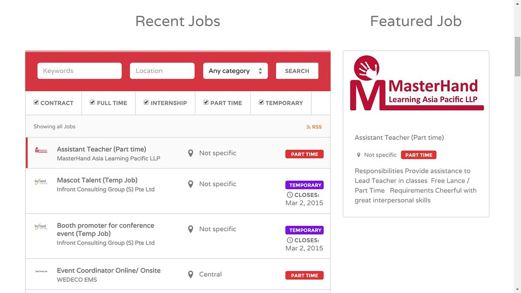 Search no further - Snagajob has over , part-time jobs that will fit perfectly with your schedule. Start your job search today by browsing part-time job openings near you. Once you find the perfect job, simply create a free account and apply in just minutes.