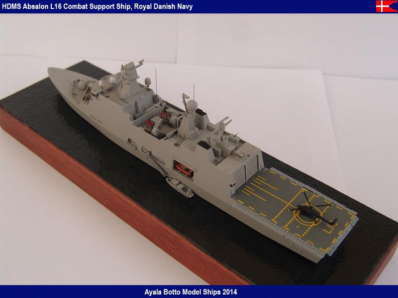 HDMS Absalon L-16  Navire de Soutien Multifonctions - NNT 1/700 16643005771_614cfaefa4_c