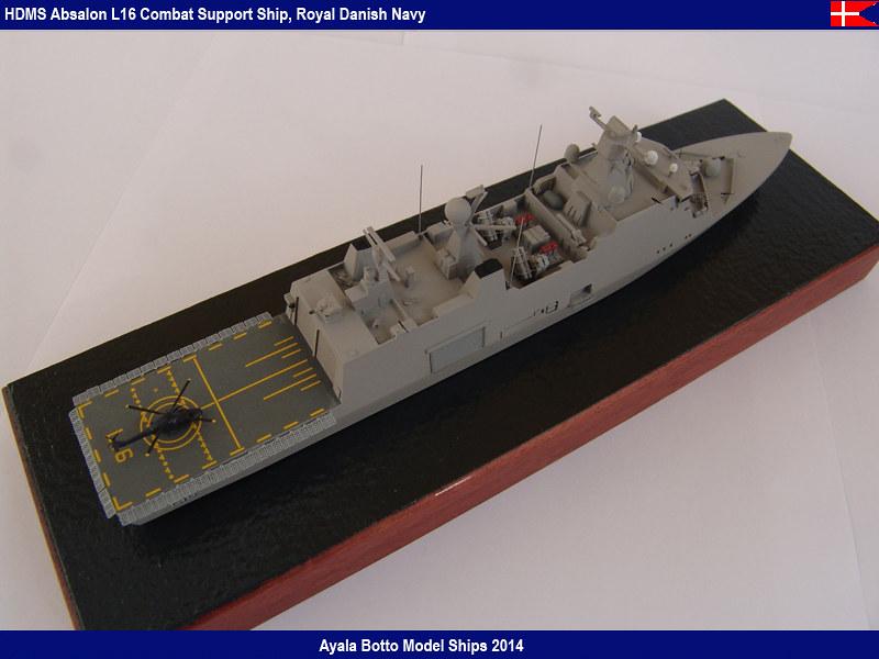 HDMS Absalon L16 Navire de Soutien Multifonctions NNT 1/700  16644417905_477e15df32_c