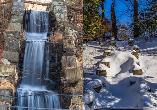 winter snow newjersey rocks waterfalls wintertime ringwood ringwoodmanor ringwoodstatepark smack53