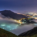 Foggy Valley at Night 琉璃凝光圍四天 by Sharleen Chao