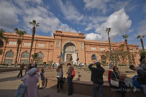 【写真】世界一周 : エジプト考古学博物館