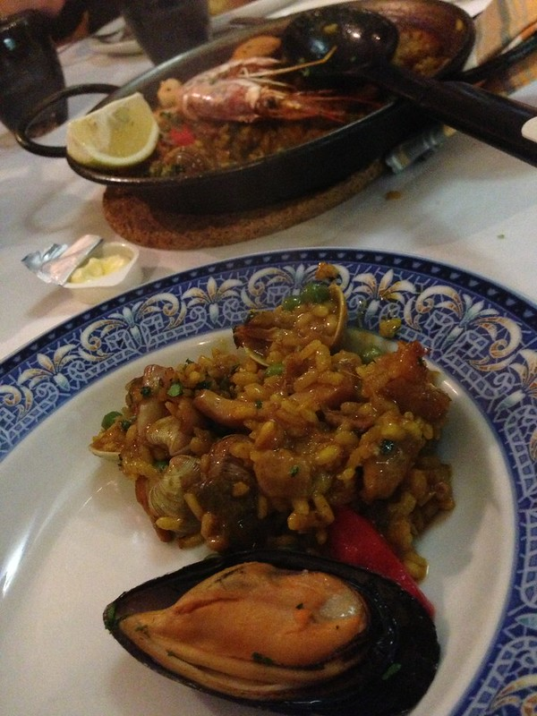 I couldn't get enough of the Seafood Paella