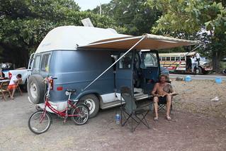 Chillin on Lake Nicaragua in Centro Turisto.  Granada, Nicaragua.