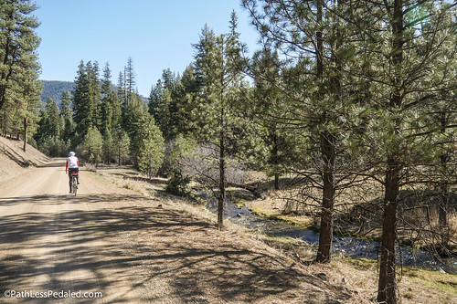 Pedaling in Prineville