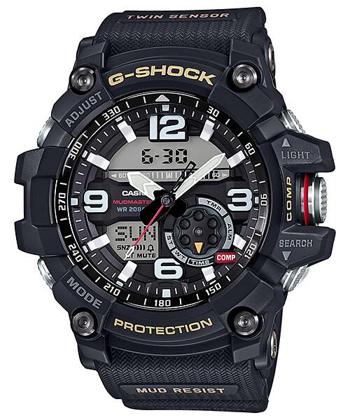 1b9af10088a4 ... Reloj Casio G-shock Mudmaster 2 Sensores Hombre GG1000-1A
