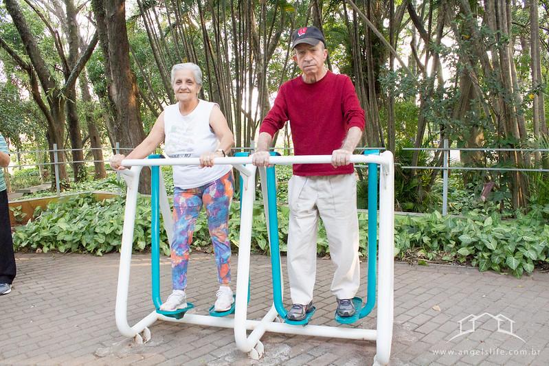 Fisioterapia na Lagoa do Taquaral