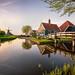 Dutch colors - Zaanse Schans, Netherlands by luigitrevisi
