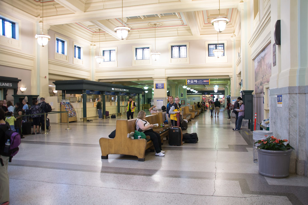 Inside Vancouver's Pacific Central Train Station