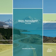 Want to know the secrets to capturing better travel photos?  Join us tonight for a #FREE webinar 9PM EDT click on through my profile link to register or visit http://photorec.tv/travelsecrets/