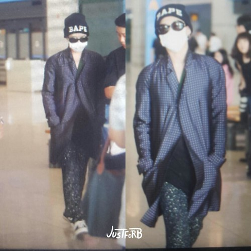 G-Dragon Arrival Seoul from Paris 2015-07-09 020