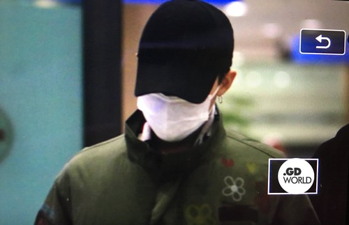 Big Bang - Incheon Airport - 27mar2016 - GD World - 01