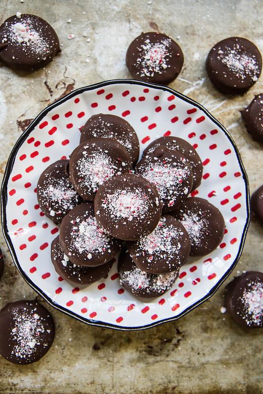Vegan Chocolate Peppermint Patties