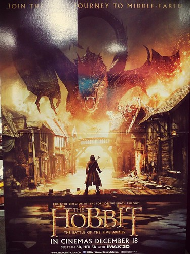 Caught the last 'Hobbit movie last night already!