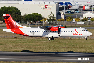 Avianca ATR 72-600 msn 1196