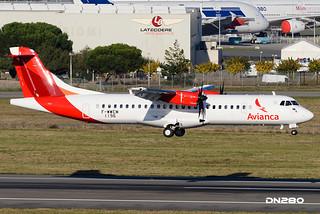 Avianca ATR 72-600 msn 1196