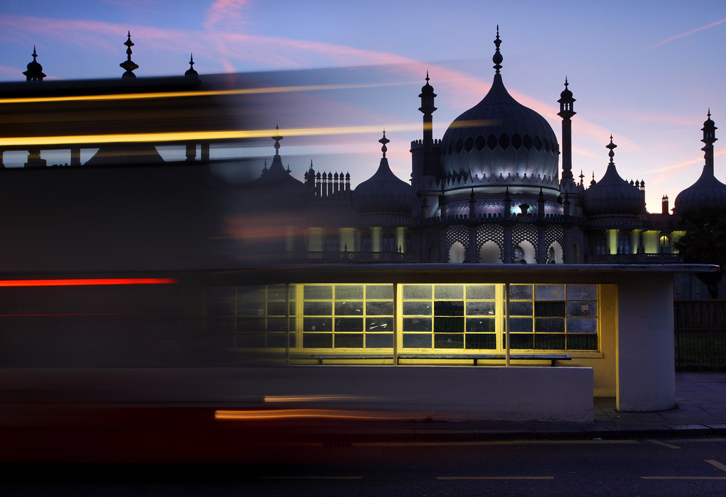 Brighton Royal Pavilion Long Exposure