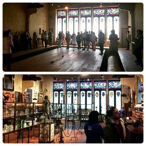 Durant i després de la rehabilitació dels @MuseusdeSitges #Sitges #Garraf #Penedès