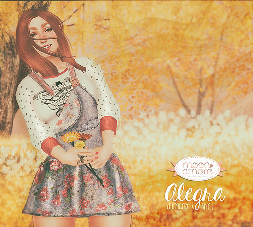 :Moon Amore: Alegra Dungaree & Shirt