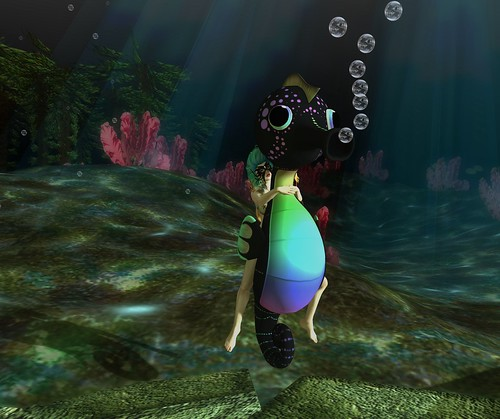 Skippy the seahorse...