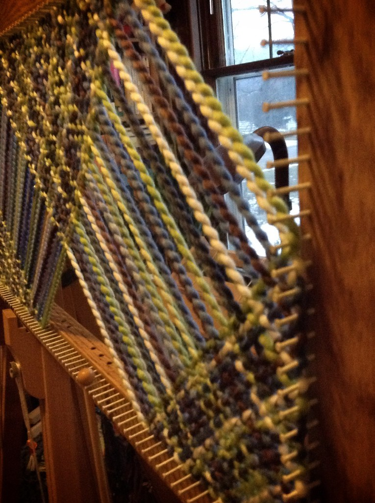 Rectangle Loom Scarf