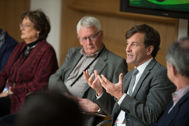 Paul Rice speaking at the What's Working? session, Giving Pledge, Skoll World Forum 2014, Saïd Business School, Oxford - skollwf 2014