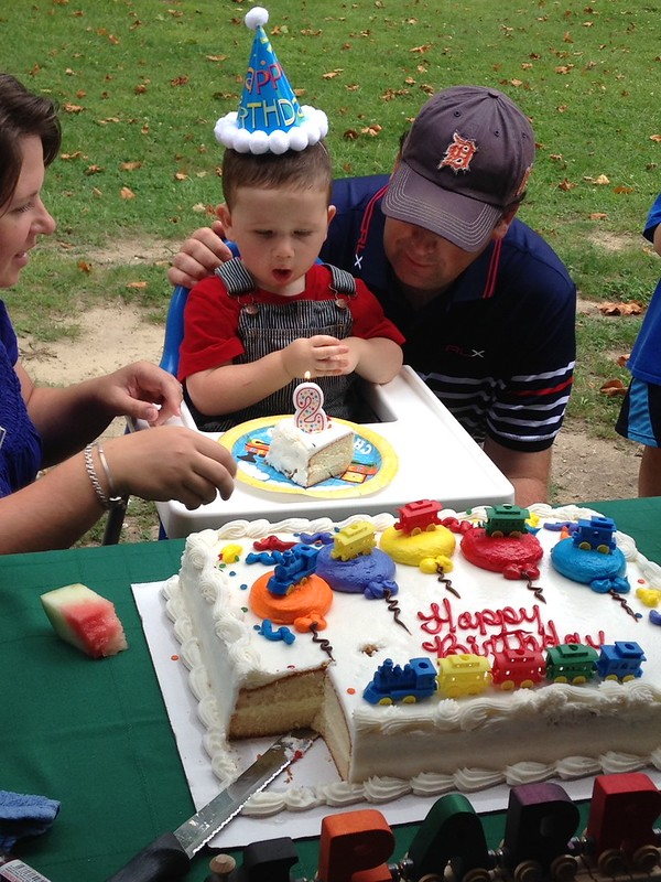 Padraig 2nd Bday