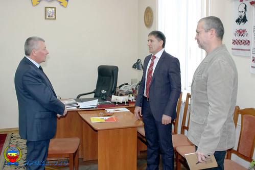 Встреча Председателя ППУ и Начальника главного управления пенсионного фонда Украины в Ивано-Франковской области (4)