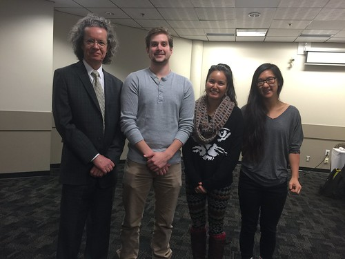 Alan Shaver and Tanner Gainer, Tiffany Adams, Melissa Ryeo (Cross Country)