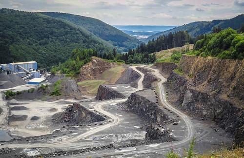Quarry near Blechhammer, Germany