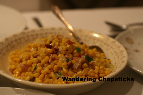 Corn Sauteed with Bacon and Green Onions 1