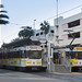 Long Beach, CA: Northbound Blue Line train departing for downtown Los Angeles from Long Beach Transit Mall by nabobswims