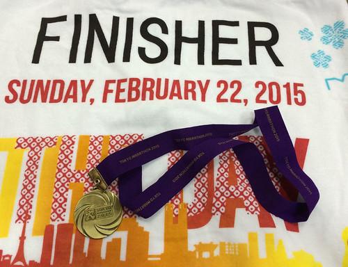 TOKYO-Marathon 2015-FINISH