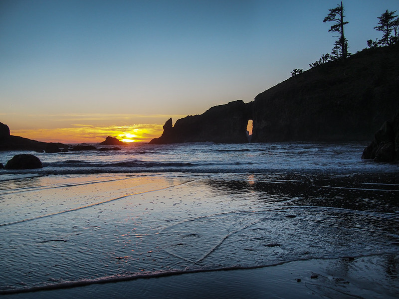 Olympic Peninsula - Second Beach