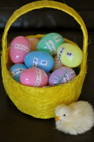 Easter Egg Phonograms (Photo from Sorting Sprinkles)