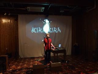 Kira Kira soundcheck